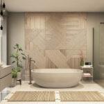 Je badkamer van stijl voorzien? Met een houten badmeubel lukt het!